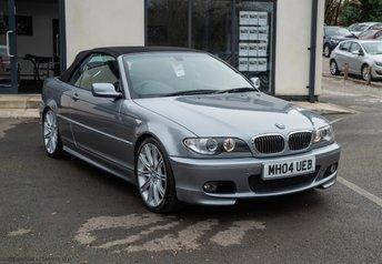 2004 BMW 3 SERIES 3.0 330CI SPORT CONVERTIBLE 2d AUTO 228 BHP £7890.00
