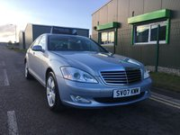 2007 MERCEDES-BENZ S CLASS 3.0 S320 CDI 7 G-tronic   LUXURY AUTOMATIC SALOON £5995.00