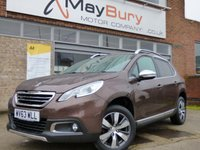 USED 2013 63 PEUGEOT 2008 1.6 E-HDI ALLURE 5d 92 BHP FULL PEUGEOT SERVICE HISTORY & £20 A YEAR TO TAX