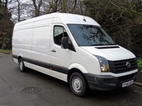 USED 2016 66 VOLKSWAGEN CRAFTER 2.0 CR35 TDI 107 BHP EURO 6 LWB HIGH ROOF PANEL VAN EURO 6+AIR-CON+CRUISE+
