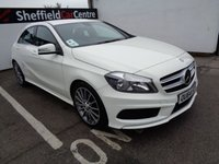 2014 MERCEDES-BENZ A CLASS 1.5 A180 CDI BLUEEFFICIENCY AMG SPORT 5d 109 BHP £13675.00