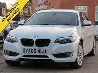 2016 BMW 2 SERIES 1.5 218I SE 2d 134 BHP