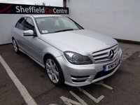 2011 MERCEDES-BENZ C CLASS 2.1 C220 CDI BLUEEFFICIENCY SPORT 4d AUTO 168 BHP £10575.00