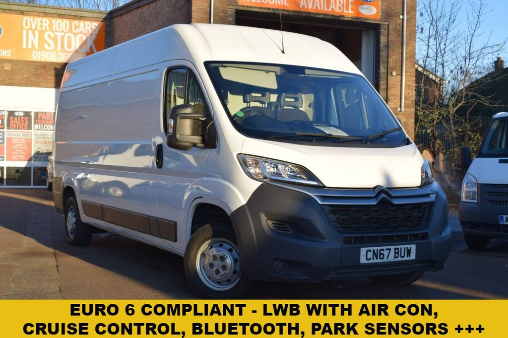 42dbae9c03 USED 2017 67 CITROEN RELAY 2.0 35 L3H2 ENTERPRISE BLUEHDI 1d 129 BHP Euro 6  compliant ...