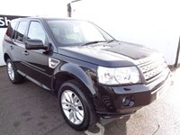 USED 2012 61 LAND ROVER FREELANDER 2.2 SD4 HSE 5d AUTO 190 BHP £264 A MONTH FSH  PANORAMIC ROOF SATELLITE NAVIGATION PRIVACY GLASS PARKING SENSORS ALLOY WHEELS FULL  LEATHER