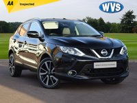 USED 2014 14 NISSAN QASHQAI 1.6 DCI TEKNA 5d 128 BHP A rare 4x4 Nissan Qashqai 1.6dci TEKNA in black with just 41,100 mile, complete with records for 3 services, 2 keys and an independent AA inspection report.