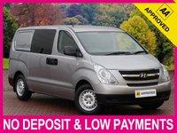 USED 2012 12 HYUNDAI ILOAD 2.5 CRDI COMFORT 6 SEAT CREW CAB COMBI VAN 6 SEAT CREW CAB TWIN SLIDING SIDE DOORS AIR CON