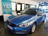 2015 VOLVO S60 2.0 D4 BUSINESS EDITION 4d AUTO 188 BHP £8495.00