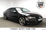 USED 2015 15 AUDI A7 3.0 SPORTBACK TDI QUATTRO S LINE BLACK ED 5DR AUTO 215 BHP SAT NAV HEATED SEATS FULL SERVICE HISTORY + HEATED LEATHER SEATS + SATELLITE NAVIGATION + BLUETOOTH + CRUISE CONTROL + PARKING SENSORS + PRIVACY GLASS + 4 ZONE CLIMATE CONTROL + MULTI FUNCTION WHEEL + ELECTRIC WINDOWS + ELECTRIC MIRRORS + 21 INCH ALLOY WHEELS
