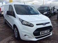 USED 2015 65 FORD TRANSIT CONNECT LWB L2 1.6 240 TREND 94 BHP 1 OWNER FSH NEW MOT AIR CON RACKING FREE 6 MONTH AA WARRANTY INCLUDING RECOVERY AND ASSIST NEW MOT AIR CONDITIONING RACKING SPARE KEY 3 SEATS TWIN SIDE LOADING DOOR REAR PARKING SENSORS ELECTRIC WINDOWS AND MIRRORS BLUETOOTH