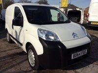 USED 2014 64 CITROEN NEMO 1.3 660 X HDI 74 BHP 1 OWNER FSH NEW MOT FREE 6 MONTH AA WARRANTY INCLUDING RECOVERY AND ASSIST NEW MOT SPARE KEY