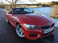 USED 2010 60 BMW Z4 2.5 Z4 SDRIVE23I M SPORT ROADSTER 2d 201 BHP **STUNNING RED LEATHER**