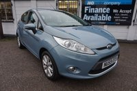 USED 2009 59 FORD FIESTA 1.2 ZETEC 5d 81 BHP 1 OWNER- 25000 MILES 1 Owner from New, S/History, Bluetooth,Rear Parking Aid