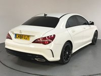 USED 2016 66 MERCEDES-BENZ CLA 2.1 CLA 220 D AMG LINE 4d AUTO 174 BHP MERCEDES HISTORY - ONE OWNER - HALF LEATHER - BLUETOOTH - PARKING SENSORS - AIR CON - CRUISE - USB
