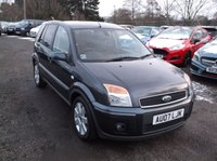 2007 FORD FUSION 1.4 FUSION PLUS 5d 68 BHP £3000.00