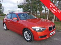 USED 2015 64 BMW 1 SERIES 1.6 116D EFFICIENTDYNAMICS 5d 114 BHP