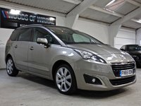 USED 2016 65 PEUGEOT 5008 1.6 BLUE HDI S/S ALLURE 5d AUTO 120 BHP