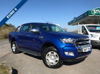 USED 2017 67 FORD RANGER 2.2 LIMITED 4X4 DCB TDCI 1d 148 BHP SAT NAV, Air Conditoning, Heated Seats, Finance Arranged, Top Spec.