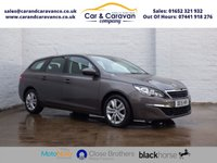 USED 2015 15 PEUGEOT 308 1.6 BLUE HDI S/S SW ACTIVE 5d 120 BHP One Owner Service History NAV Buy Now, Pay Later Finance!