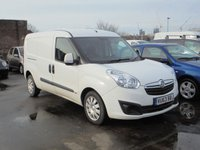 2014 VAUXHALL COMBO VAN 1.6 2300 L2H1 CDTI S/S SPORTIVE 1d 105 BHP £3795.00