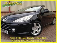USED 2008 08 PEUGEOT 307 1.6 ALLURE COUPE CABRIOLET 2d 108 BHP +LOVELY 307+GREAT HISTORY+