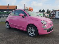 USED 2010 10 FIAT 500 1.2 PURO2 3d 69 BHP 2 YEAR RAC MECHANICAL WARRANTY FOR ONLY £295.00