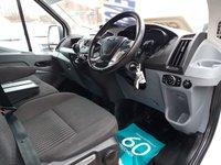 USED 2018 18 FORD TRANSIT  T350 130 BHP TREND JUMBO 2018/18 REG ( EURO 6 ) TRANSIT JUMBO TREND 2018 EURO 6 MODEL + AIR CON  )