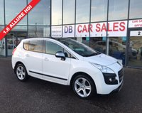 USED 2013 63 PEUGEOT 3008 1.6 ALLURE HDI FAP 5d 115 BHP NO DEPOSIT AVAILABLE, DRIVE AWAY TODAY!!