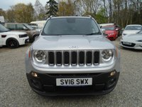 USED 2016 16 JEEP RENEGADE 1.4 MultiAir II Limited (s/s) 5dr