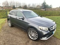 USED 2016 16 MERCEDES-BENZ GLC-CLASS 2.1 GLC 250 D 4MATIC AMG LINE PREMIUM 5d AUTO Full MB Service History  Full Mercedes Service History, MOT 02/20, Recent Service, Still Under Mercedes Warranty, One Private Owner, Very Very Clean And Tidy Example, Bluetooth Handsfree And Media Streaming, Keyless Entry And Start, Full Panoramic Opening Sunroof, X2 Keys, 20' Amg Alloys, Birds Eye View 360' Cameras, Cruise Control + Speed Limiter, Electric Opening And Closing Tailgate, DAB/Cd/USB/Stereo, Auto Lights On, Auto Wipers, Reverse Front Facing And Mirror Cameras, Dimming Mirrors, Auto Folding Mirrors On Centr