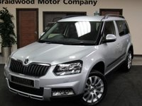 2016 SKODA YETI 2.0 OUTDOOR SE BUSINESS TDI SCR 5d 109 BHP £11475.00