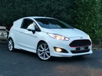 USED 2015 15 FORD FIESTA VAN 1.6 SPORT TDCI 1d 94 BHP NO VAT - LOW MILES - ZETEC S KIT