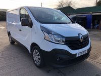 USED 2016 16 RENAULT TRAFIC 1.6 SL27 BUSINESS DCI SWB 115 BHP LOW MILEAGE
