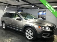 USED 2011 11 VOLVO XC70 2.4 D5 SE LUX AWD 5d AUTO 202 BHP Bluetooth  :  Sat Nav  :  Leather upholstery   :   Electric/Memory driver's seat   :    Hydraulic retractable dog guard   :   Remotely operated tailgate    :    Rear parking sensors    :    Full service + MOT when sold