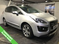 USED 2016 16 PEUGEOT 3008 1.6 BLUE HDI S/S ALLURE 5d AUTO 120 BHP Bluetooth  :  Panoramic glass roof  :  Sat Nav  :  Part leather upholstery  :   Peugeot Heads-up Display   :         Split  tailgate         :         Reversing  camera  plus  front  +  rear  parking  sensors         :   Fully stamped Peugeot service history