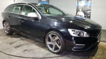 2014 VOLVO V60 2.4 D5 R-DESIGN NAV 5d AUTO 212 BHP £12450.00