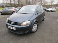 2011 VOLKSWAGEN GOLF PLUS 1.6 S TDI 5d 103 BHP £3995.00