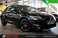 USED 2016 16 SEAT LEON 1.8 TSI FR TECHNOLOGY DSG 3d AUTO 180 BHP + 1 OWNER  + SERVICE HISTORY + 15 MONTHS WARRANTY + 12 MONTHS MOT +