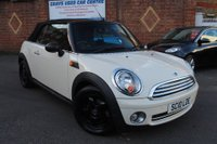 USED 2010 10 MINI CONVERTIBLE 1.6 One 2dr SERVICE HISTORY, LOVELY CAR