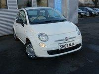 2012 FIAT 500 1.2 POP 3d 69 BHP £3980.00