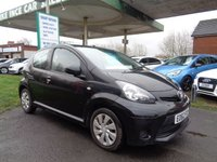 USED 2012 62 TOYOTA AYGO 1.0 VVT-I ICE 5d 68 BHP 30 A YEAR ROAD TAX