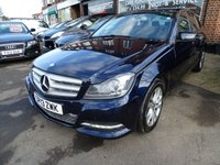 2013 MERCEDES-BENZ C CLASS 2.1 C220 CDI BLUEEFFICIENCY EXECUTIVE SE 4d AUTO 168 BHP £SOLD