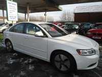 USED 2010 10 VOLVO S40 1.6 D DRIVE S 4d 109 BHP 8 SERVICE STAMPS