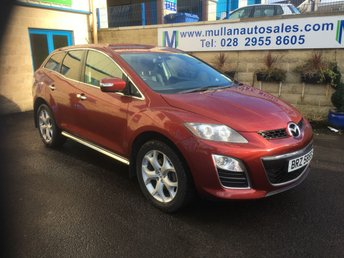 2010 MAZDA CX-7 2.2 D SPORT TECH 5d 173 BHP £5995.00