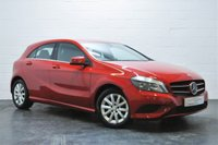 USED 2013 13 MERCEDES-BENZ A CLASS 1.6 A180 BLUEEFFICIENCY SE 5d 122 BHP FULL MERCEDES SERVICE HISTORY + BLUETOOTH + HALF LEATHER