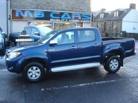 "USED 2008 57 TOYOTA HI-LUX 3.0 4X4 D-4D D/C 1d 169 BHP 3 LITRE TURBO DIESEL,2 OWNERS,FULL SERVICE HISTORY,""NO VAT"""