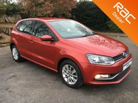 USED 2014 64 VOLKSWAGEN POLO 1.0 SE 5d 74 BHP What a Good Looking Car !