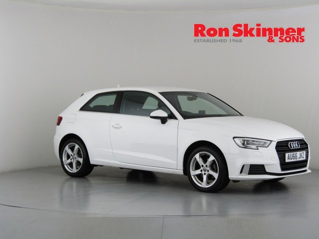 View our 2016 66 AUDI A3 1.0 TFSI SPORT 3d 114 BHP
