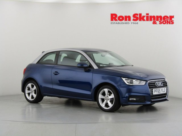 View our 2016 65 AUDI A1 1.0 TFSI SPORT 3d 93 BHP