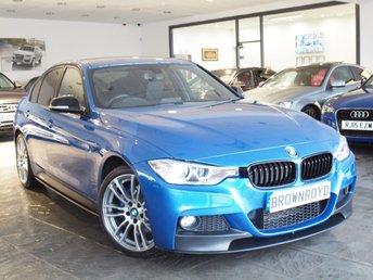 2013 BMW 3 SERIES 2.0 320I XDRIVE M SPORT 4d 181 BHP £14990.00